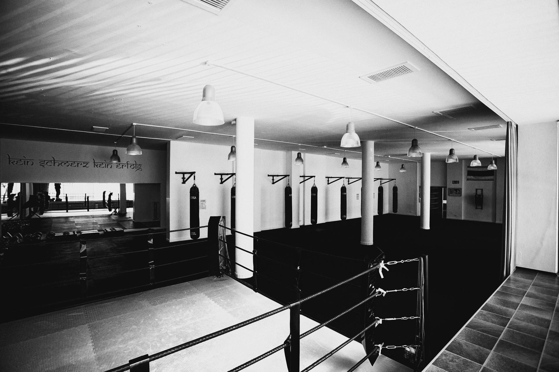 Unser Studio Schwarzweißbild